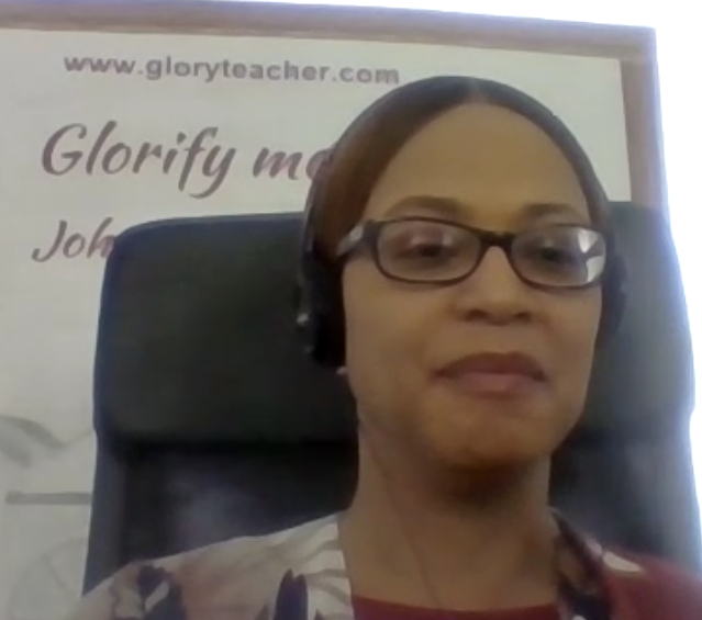 8. Karen Pina Talks About the Difference Between Being Sanctified and Glorified